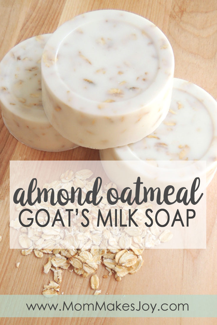 Almond Oatmeal Goat's Milk Soap - Mom