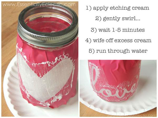 Etched Glass Valentine S Day Gift Mason Jars Free Cut File Mom Makes Joy