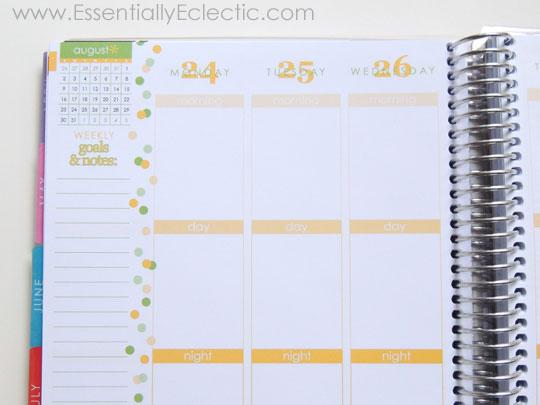Erin Condren Life Planner Review | www.EssentiallyEclectic.com