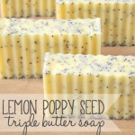 Lemon Poppy Seed Triple Butter Soap