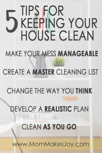 Are you desperate for a new cleaning schedule that will keep your place looking good with minimal effort? Here's how you do it! | Homemaking Tips | Tips for keeping your house clean | Cleaning Tips | Mom Makes Joy