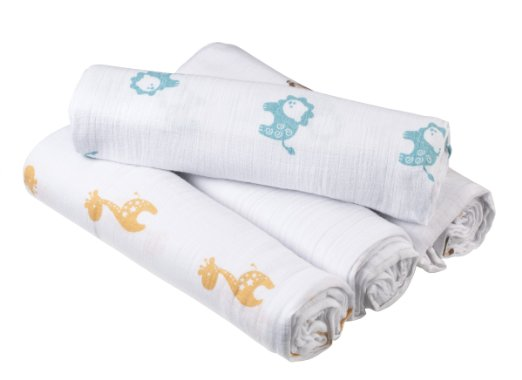 Aiden and Anais Swaddle Blankets