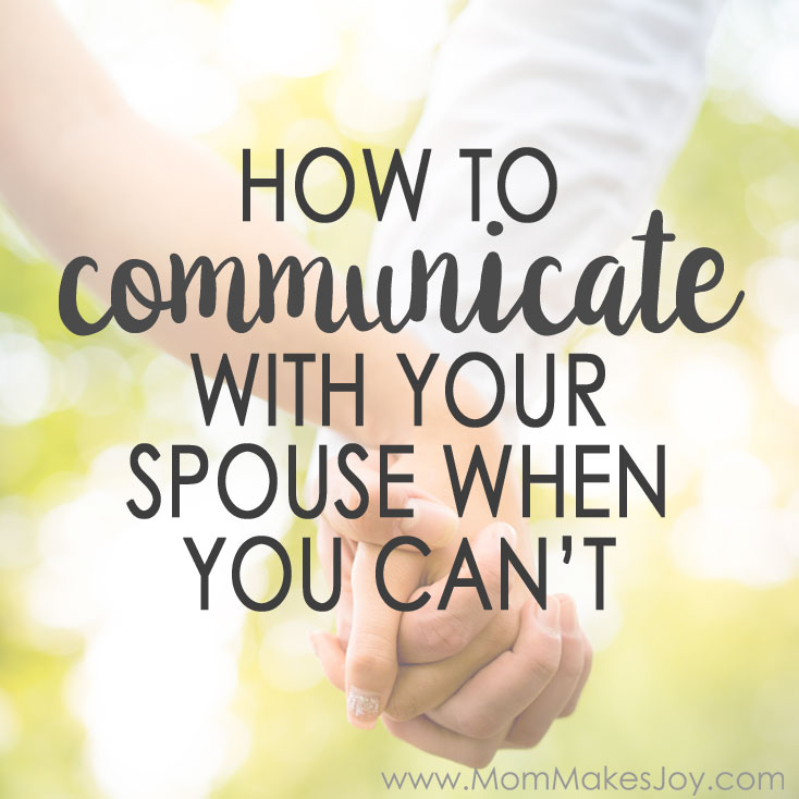 Having a baby makes communicating with your spouse extra difficult. When was the last time you talked about HOW you talk to each other? | Parenting | Marriage | Relationships | I-Statements | Mom Makes Joy