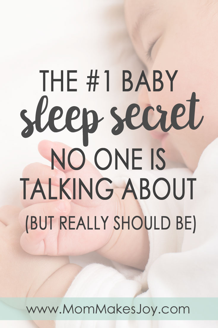 "Trying to figure out how to get baby to sleep? There is a sleep secret moms aren't talking about that you NEED to know! Find out if your baby is a ""normal"" sleeper or actually has a sleep problem."