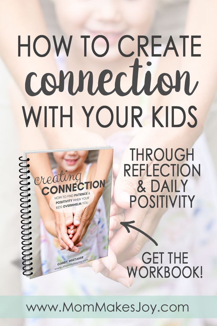 If you want to influence your child's behavior, it's important to create connection. But building that connection isn't always easy! Here's how start. | Gentle Parenting | Positive Discipline | Parenting Workbook