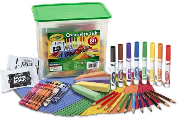 Crayola Creativity Tub Art Set