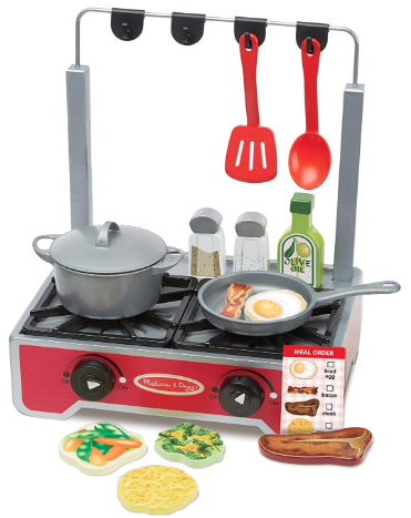 Melissa and Doug Play Cooktop