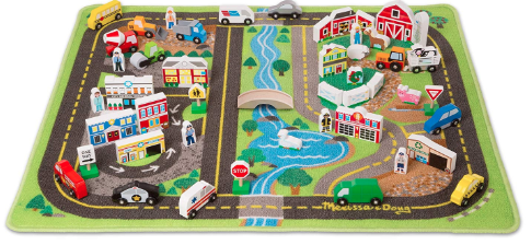 Melissa and Doug Activity City Mat
