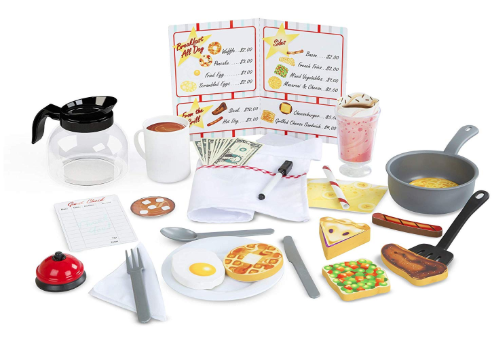 Melissa and Doug Diner Pretend Play Set