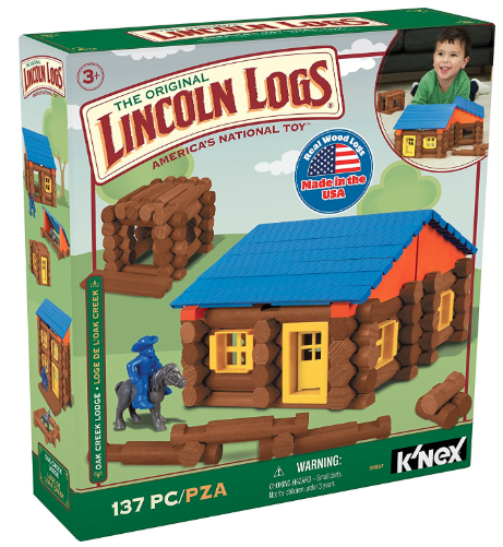 The Original Lincoln Logs Set