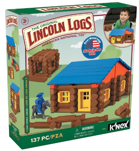 The Original Lincoln Logs Set