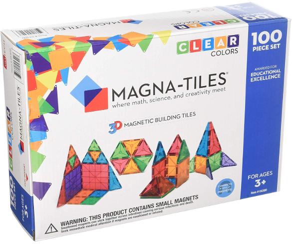 Magna-Tiles 100 Piece Set