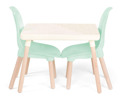 Mint Table and Chairs Set for Kids