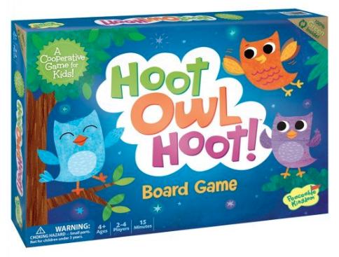 Hoot Owl Hoot Peaceable Kingdom Game