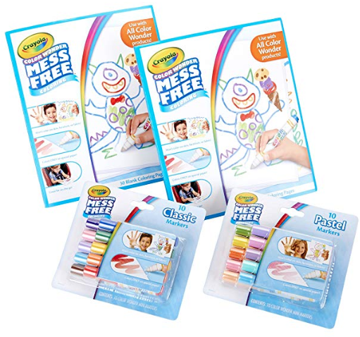 Crayola Mess Free Markers and Coloring Book