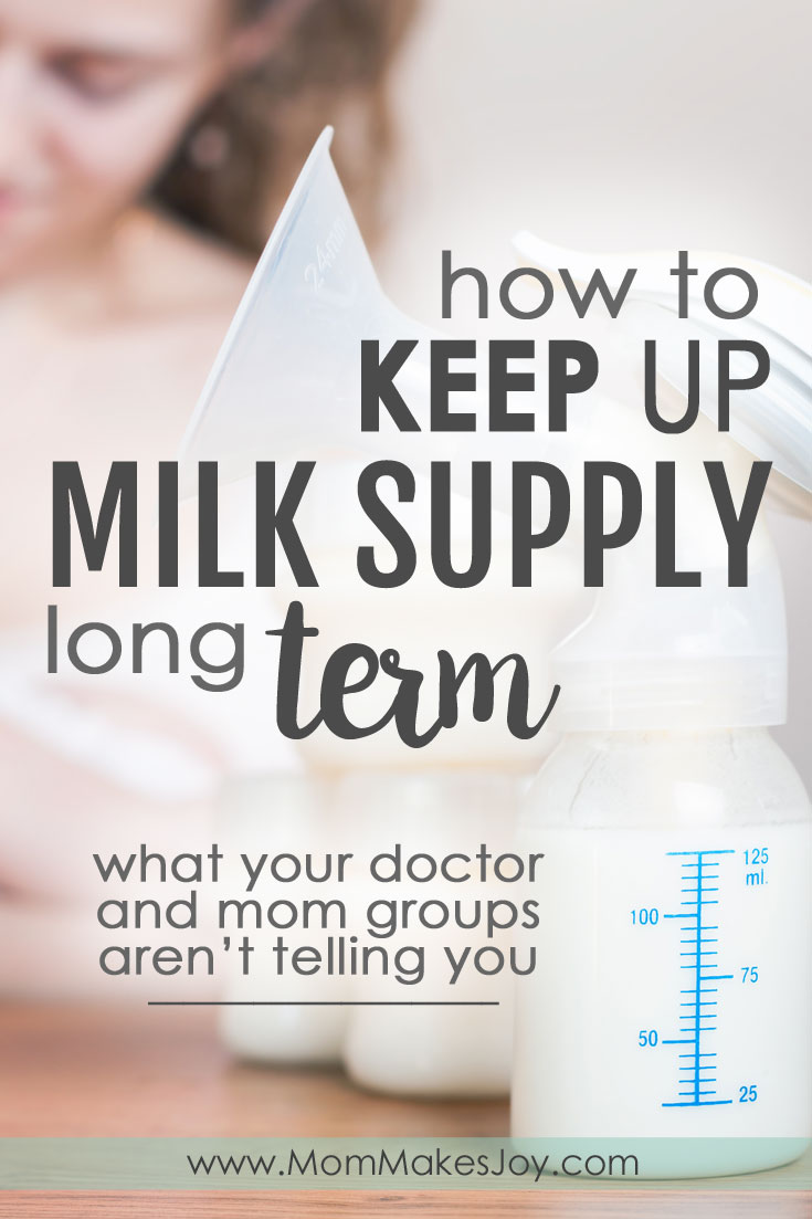 Worried about your milk supply? Here are the facts about how to keep up milk supply that your doctor and your mom friends don't know and aren't telling you.