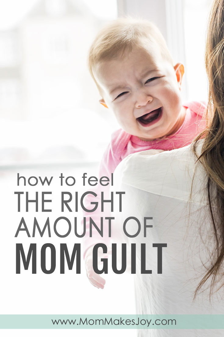 """No mom likes to feel guilty. But maybe mom guilt isn't always a bad thing? This is what being a """"bad"""" mom taught me about feeling the right amount of guilt.   Motherhood   Parenting   Toddlers   Bad Mom Good Mom   Parenting Mistakes   Mom Makes Joy"""