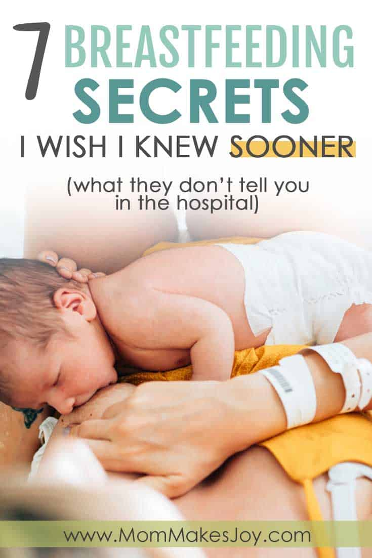 Breastfeeding advice for new moms that they don't tell you in the hospital
